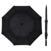 Зонт-трость мужской антишторм, r=65см