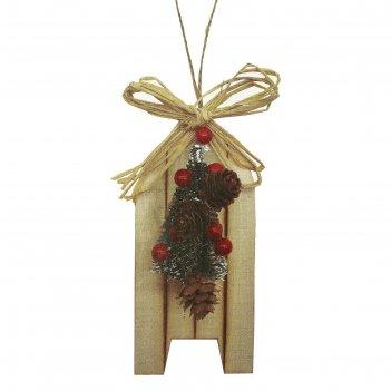 Набор для творчества - создай елочное украшение  елочка с бантиком