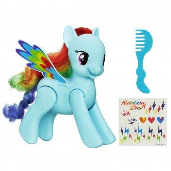Игровой набор стилиста my little pony «рэйнбоу даш»