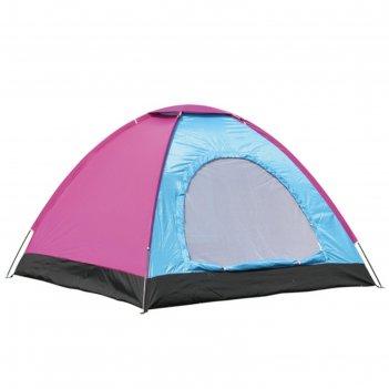 Палатка туристическая wildman™ «аризона», 4-х местная, однослойная, 200x20