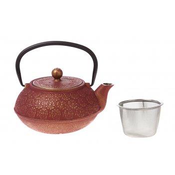 Заварочный чайник чугунный с эмалированным покрытием внутри 1150 мл (кор=8