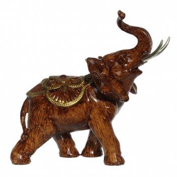 Фигурка декоративная слон, l16 w7 h17 см
