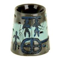 Ночник-арома настольный керамика от 220v отголоски прошлого 14,5х13,5х13,5