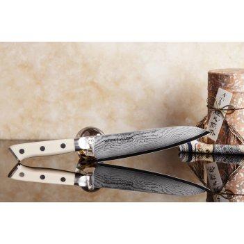 Нож кухонный поварской шеф японский samura by mcusta smc-008