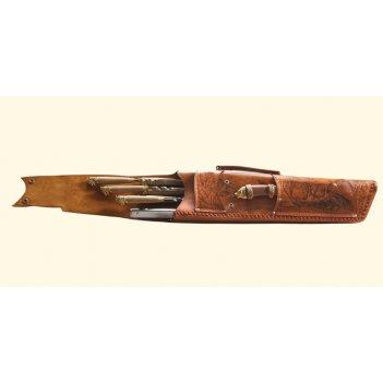 325нм6 набор шампуров подарочный «ружье»