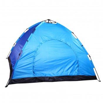 Палатка-автомат 255 х 255 х 150 см, цвет синий