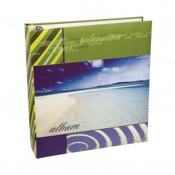 Фотоальбом магнитный 50 листов image art серия 205 морская 23х28 см микс
