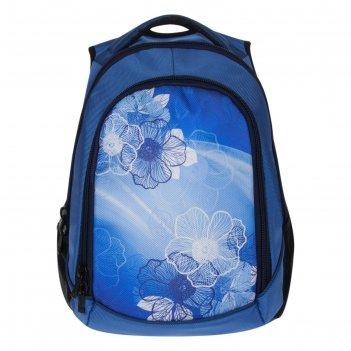 Рюкзак, голубой, 360x430x140