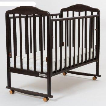 Кроватка детская nostalgia-1, венге