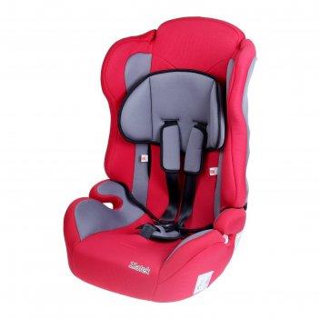 Детское автомобильное кресло atlantic группы 1-2-3, цвет: красный