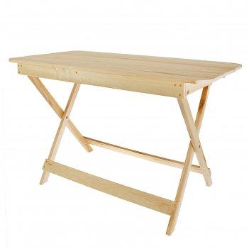 Стол раскладной прямоугольный 1000*600*750