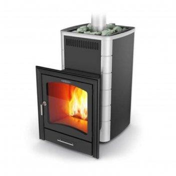 Печь для бани термофор калина inox, теплообменник, антрацит