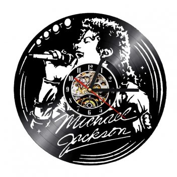 Часы виниловая грампластинка michael jackson