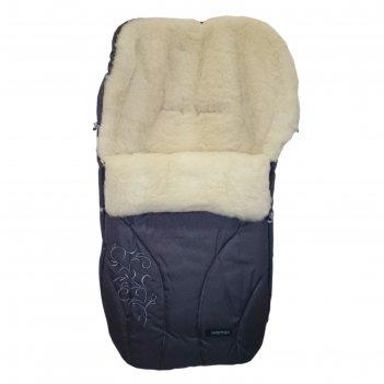 Спальный мешок в коляску snowflake, 11 графитовый