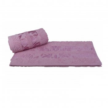 Полотенце versal, размер 100 x 150 см, розовый