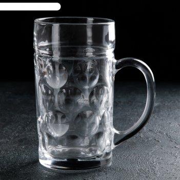 Кружка для пива 1 л богатырь
