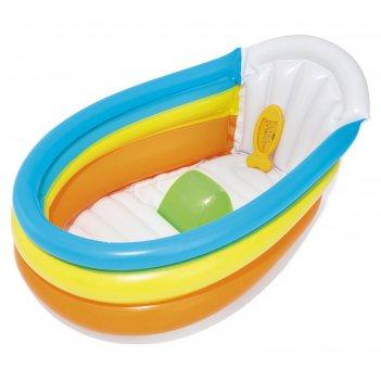 Ванночка надувная «радуга», 76 х 48 х 33 см, до 2 лет, 51134 bestway