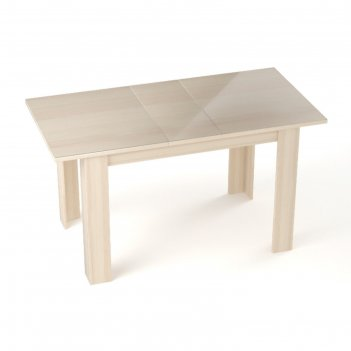 Бостон  стол  раскладной, 1200(1500)х800 мм, ясень коимбра