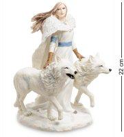 Ws-264 статуэтка девушка и волки