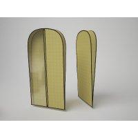 Чехол объемный для одежды малый «классик бежевый», 60х100х10 см