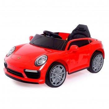 Электромобиль «родстер», радиоуправление, цвет красный