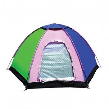 Палатка туристическая wildman™ «индиана», 4-х местная, однослойная, 240x21