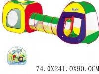 Комплекс игровой 2 палатки с туннелем