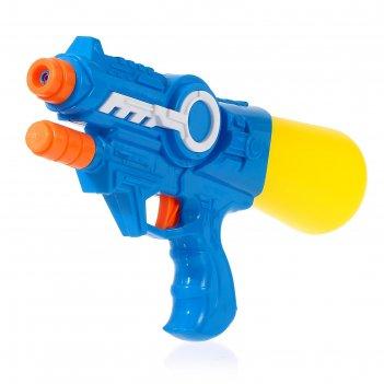 Водный пистолет космос, с накачкой, 28 см, цвета микс