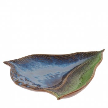 Блюдо декоративное ракушка, l21 w17 h2,5 см