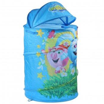 Корзина для игрушек смешарики в сумке, 43х60 см xdp-17917-r