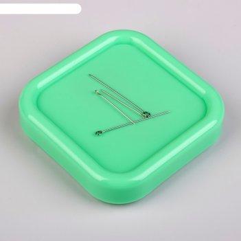 Игольница-магнит квадратная 8,5*8,5см   юв