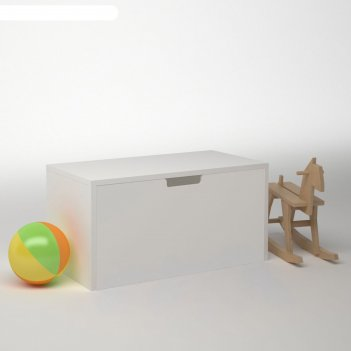 Модуль 1 ящик дм-т-1-4, 900х450х450 мм, корпус белый, фасад белый