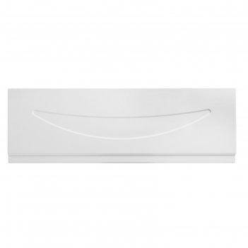 Экран под ванну eurolux улыбка, 170 см, белый