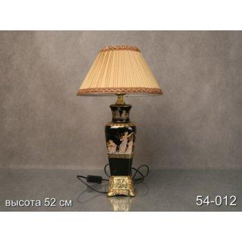 Светильник греческие мотивы высота=50см.лампа е27+абажур