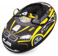 Надувные санки-ватрушка (тюбинг) small rider snow cars (черно-желтый)