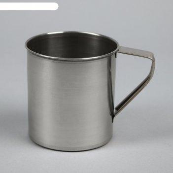 Кружка 450 мл, d=8 см, толщина металла 0,3 мм