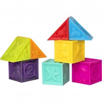 Набор игрушек для ванны «кубики», 8 шт.