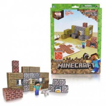 Т57238, minecraft игровой конструктор из бумаги papercraft убежище, 48 д