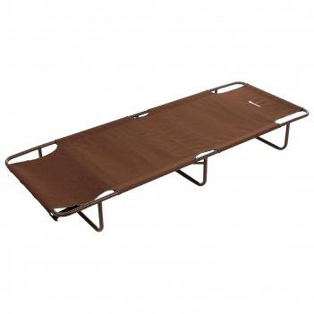 Кровать походная коричневый  140кг nisus