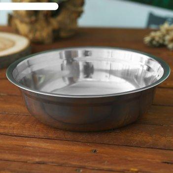 Миска походная следопыт нержавйка d 23 см, 1,5 л