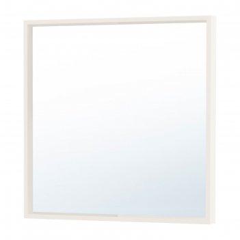 Зеркало, цвет белый нисседаль