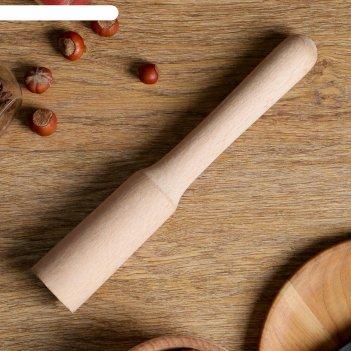 Толкушка деревянная, бук