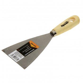 шпатели с деревянной ручкой