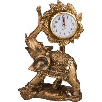 Часы настольные кварцевые слон 15*8,5*23,5см (кор=8шт.)