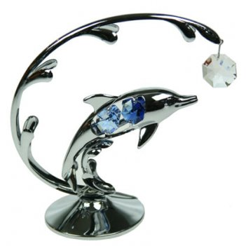 Декоративная композиция дельфин 14*13см