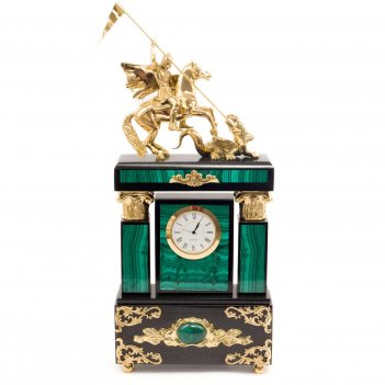 Часы георгий победоносец малахит