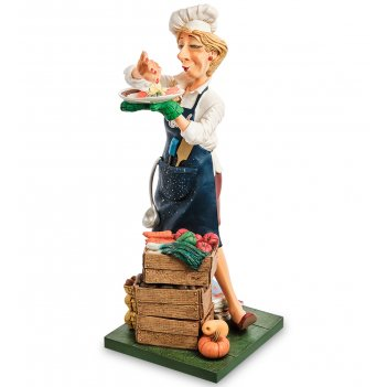 Fo-85549 статуэтка «повар» (the lady cook. forchino)