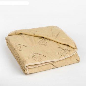 Одеяло облегчённое адамас верблюжья шерсть, размер 140х205 ± 5 см, 200гр/м