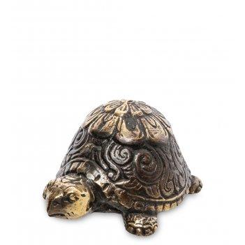 24-164 фигурка черепаха бронза (о.бали)