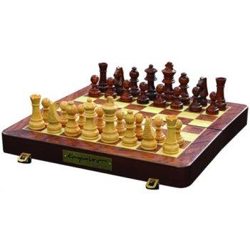 Сувенирные шахматы каспаров, 18х18 см, на магнитах.